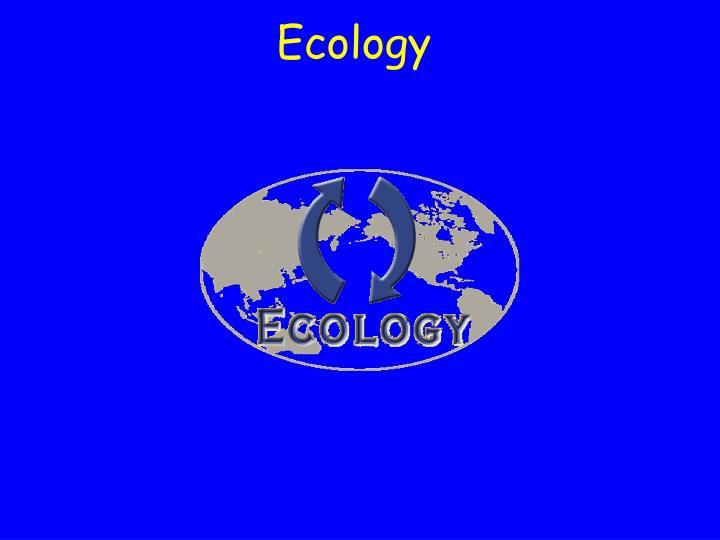 ecology n.