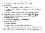 deductive reasoning agents5