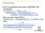 unstack