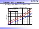simulation and calculation con t