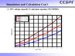 simulation and calculation con t2