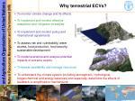 why terrestrial ecvs