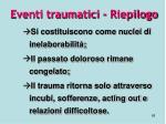 eventi traumatici riepilogo1