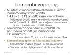 lomarahavapaa 1 2