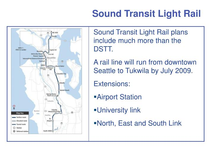 sound transit light rail n.