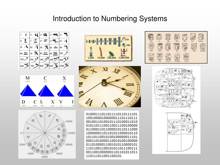 introduction to numbering systems n.