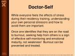 doctor self30