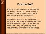 doctor self34