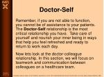 doctor self36
