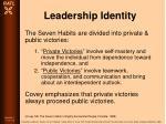leadership identity77