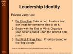 leadership identity78