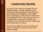 leadership identity79