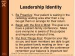 leadership identity80