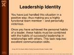 leadership identity81