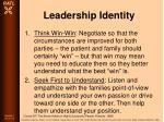leadership identity82