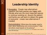 leadership identity83
