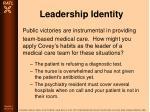 leadership identity85