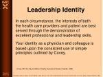 leadership identity86