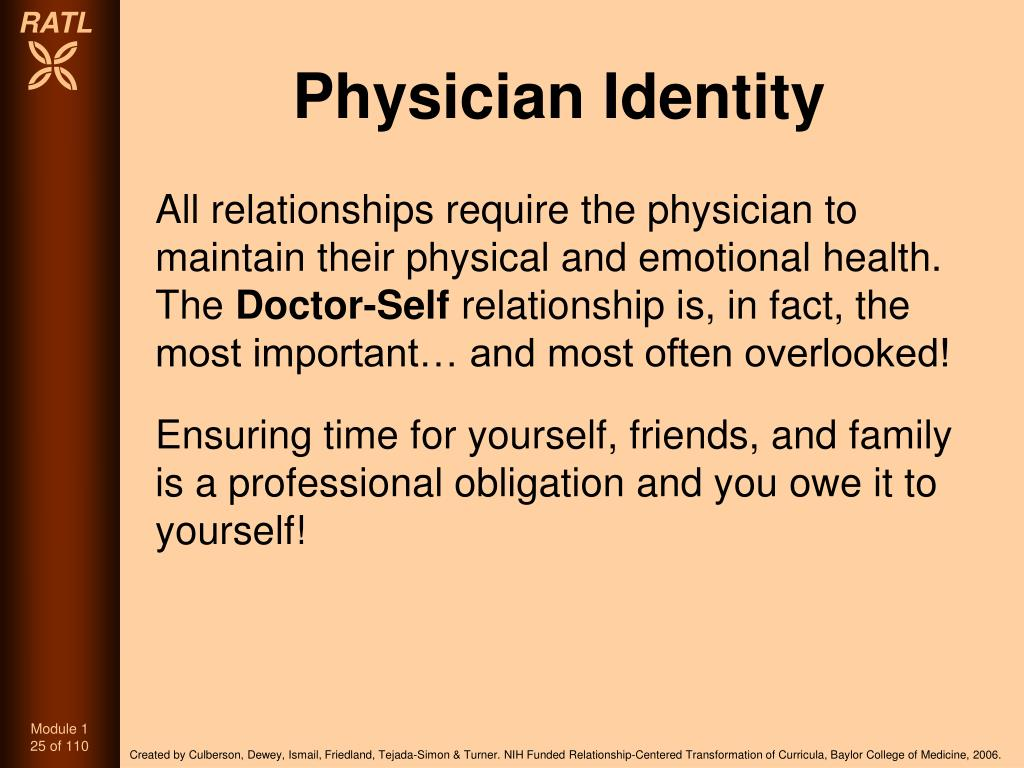 Physician Identity