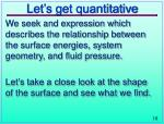 let s get quantitative
