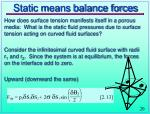 static means balance forces