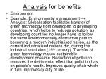 analysis for benefits3