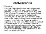 analysis for ills1