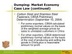 dumping market economy case law continued4
