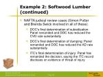 example 2 softwood lumber continued1