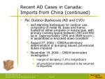 recent ad cases in canada imports from china continued5