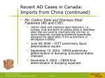 recent ad cases in canada imports from china continued6