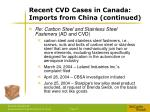 recent cvd cases in canada imports from china continued2