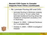 recent cvd cases in canada imports from china continued5