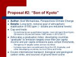 proposal 2 son of kyoto