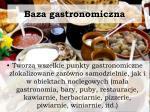 baza gastronomiczna
