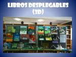 libros desplegables 3d