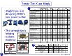 power tool case study