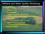 wetland and water quality monitoring1