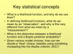 key statistical concepts