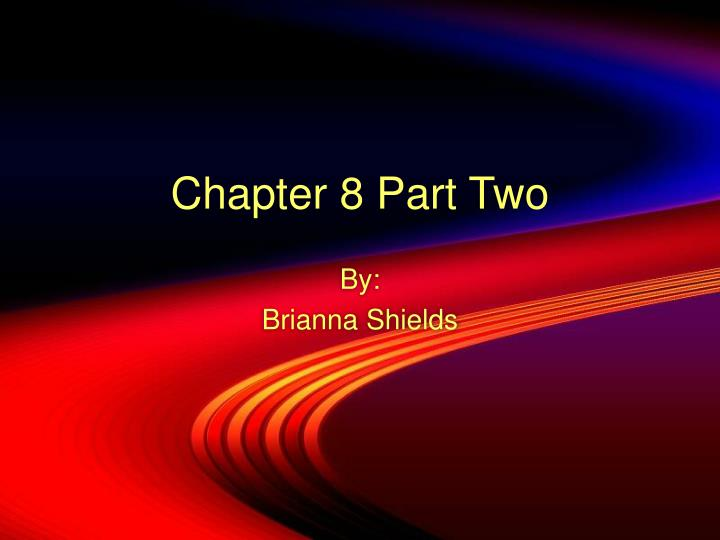 chapter 8 part two n.