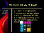 mendel s study of traits1