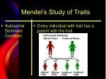 mendel s study of traits12
