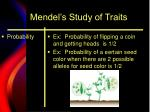 mendel s study of traits6