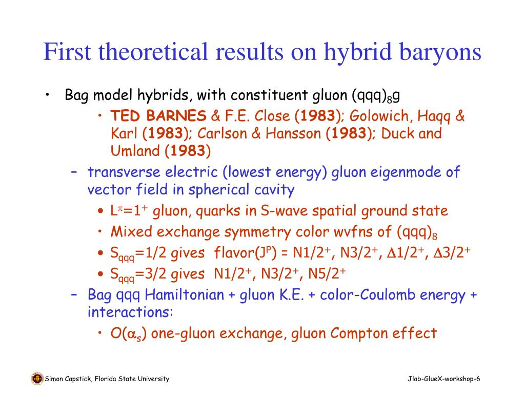 First theoretical results on hybrid baryons