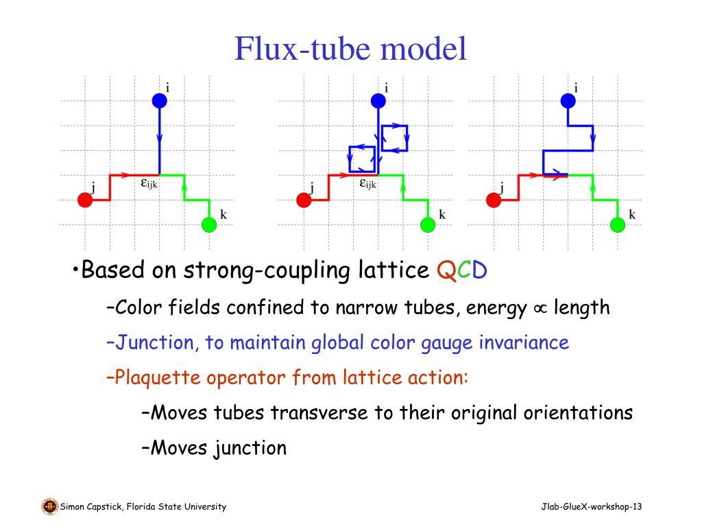 Flux-tube model