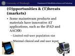 o pportunities t hreats markets3