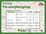 flis energiberegning1