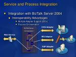 service and process integration19