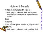 nutrient needs3