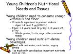 young children s nutritional needs and issues3
